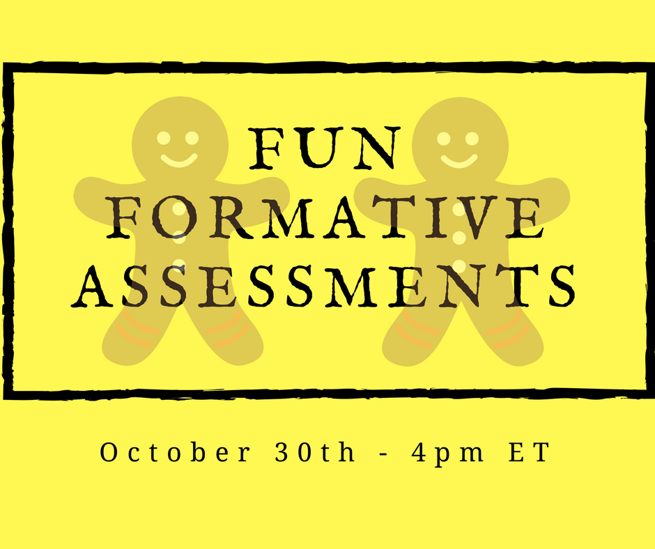 Fun With Formative Assessments