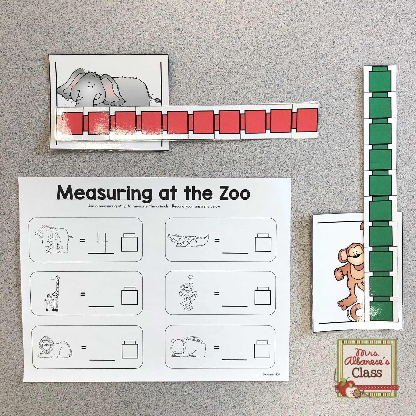 Measurement In Kindergarten