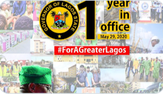 Lagos State Governor Masks His One Year Anniversary! See What He Did For Lagosians