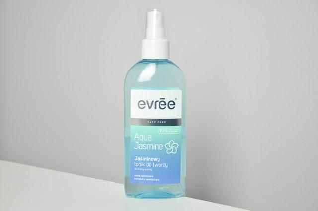 jaśminowy tonik do twarzy evree aqua jasmine