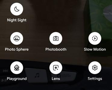 functions Google Camera