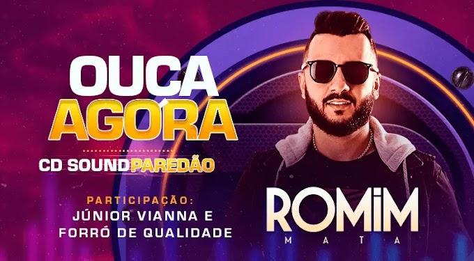 Romim Mata lança novo CD Promocional - CD Sound Paredão