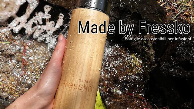 Made by Fressko bottiglie per infusioni di tè tisane e detox