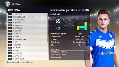 PES 2021 Faces Alessandro Semprini