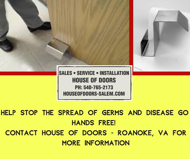 Foot pull hands free by House of Doors - Roanoke, VA