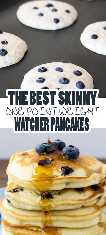 the best #skinny one point weight watcher #pancakes #recipe