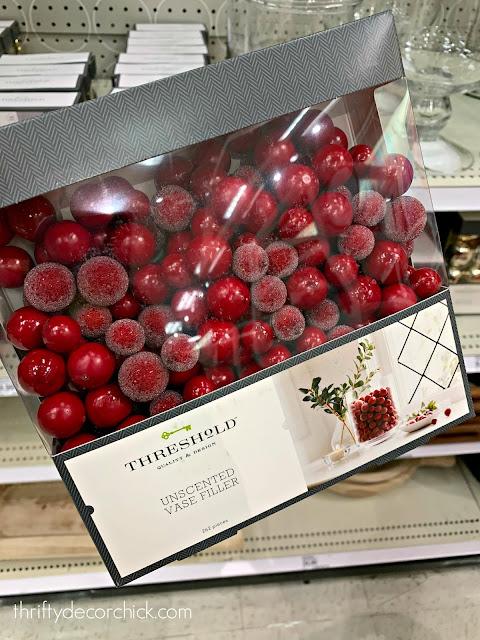 cranberry vase filler