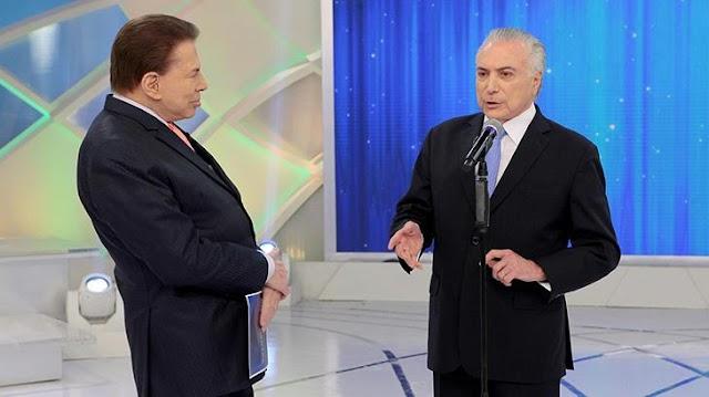 Temer no programa Silvio Santos