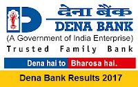Dena Bank Results 2017