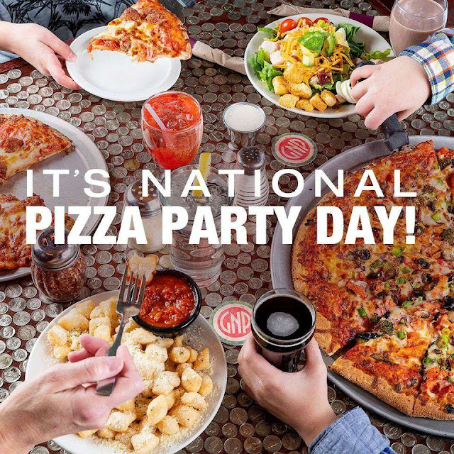 National Pizza Party Day Wishes Unique Image