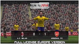Download PES 2014 PPSSPP Android English Comentary & Full License Europa Version