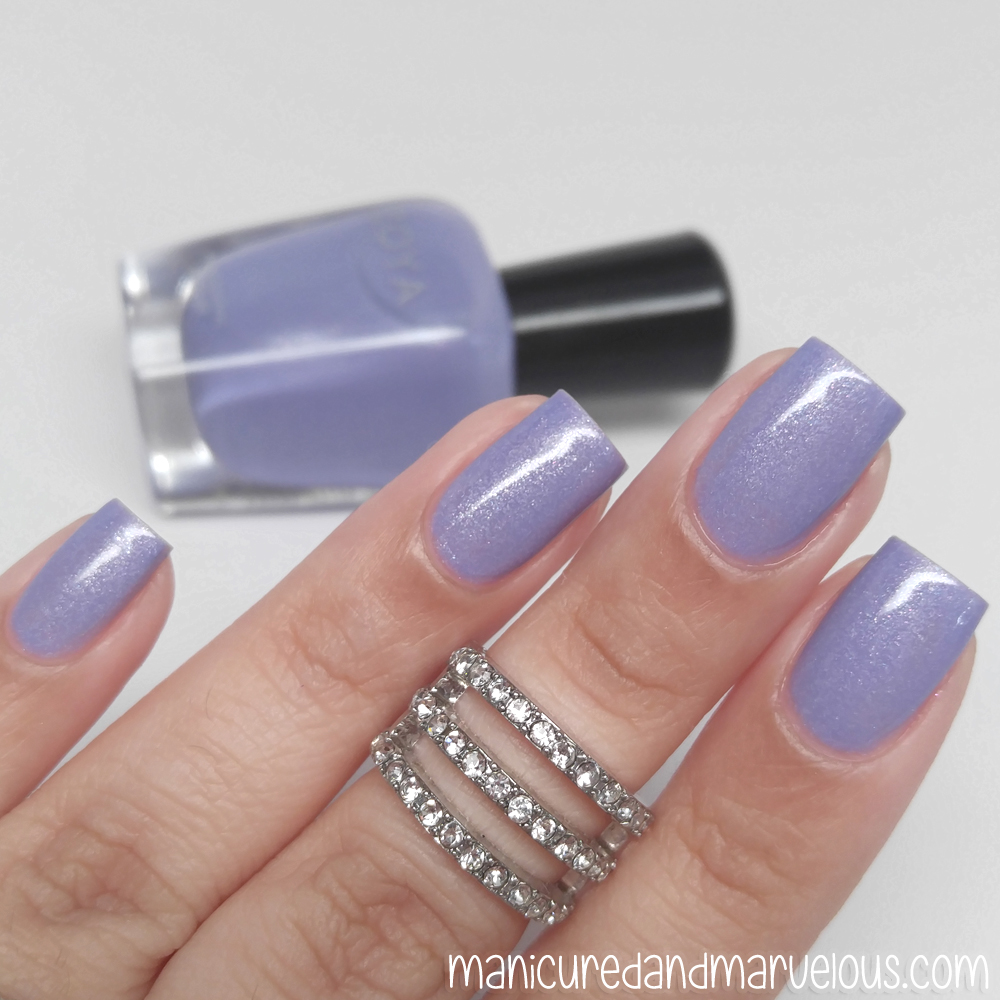 Zoya spring 2016 petals swatches review manicured marvelous zoya laurel reheart Choice Image