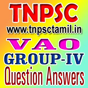 Vao Exam Study Materials Tamil Pdf