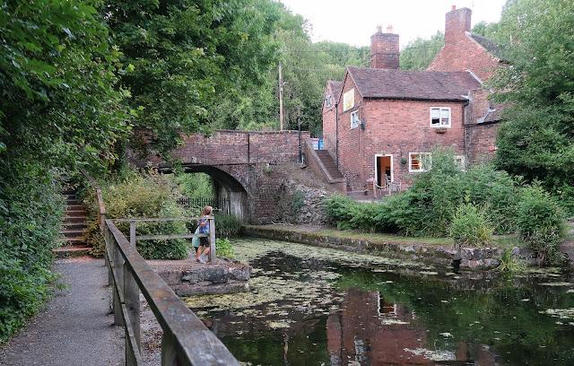 Ironbridge old canal