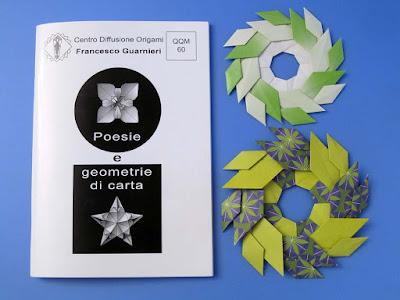 Origami foto, Booklet QQM 60 and  Ghirlanda di foglie - Garland of Leaves by Francesco Guarnieri