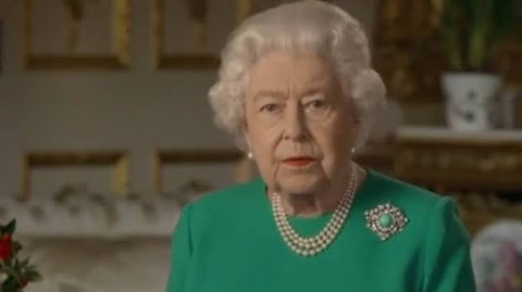In rare address, Queen Elizabeth says UK 'we will succeed' in fight