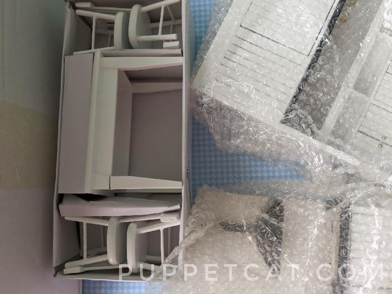 Мебель для кухни в кукольный домик