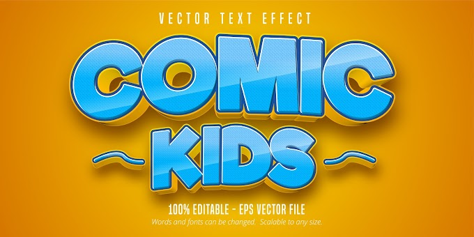 Comic Kids Text Effect Ai