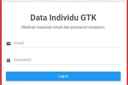 Cara Check status Guru di Dashboer GTK Kemdikbud