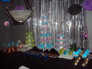 Lollipops Amp Paper Teen Party Neon Glow In The Dark
