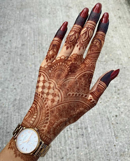 Latest henna design pictures