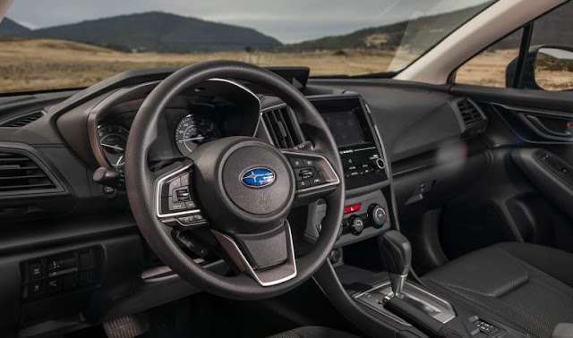 2017 Subaru Impreza 5 Door Interior