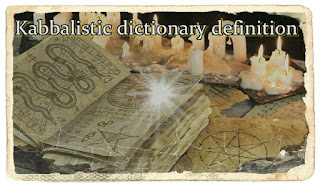A Short Dictionary of Kabbalistic Terms