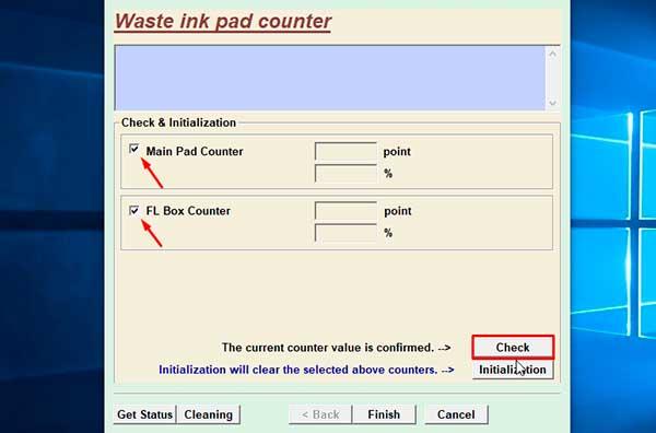 restablecer contador de impresiones epson xp-721