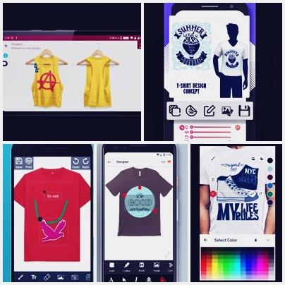 aplikasi desain kaos baju tshirt terbaik android