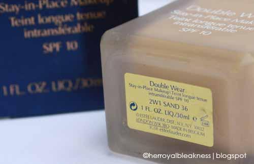 Estee Lauder Double Wear Liquid Foundation Review Fotd