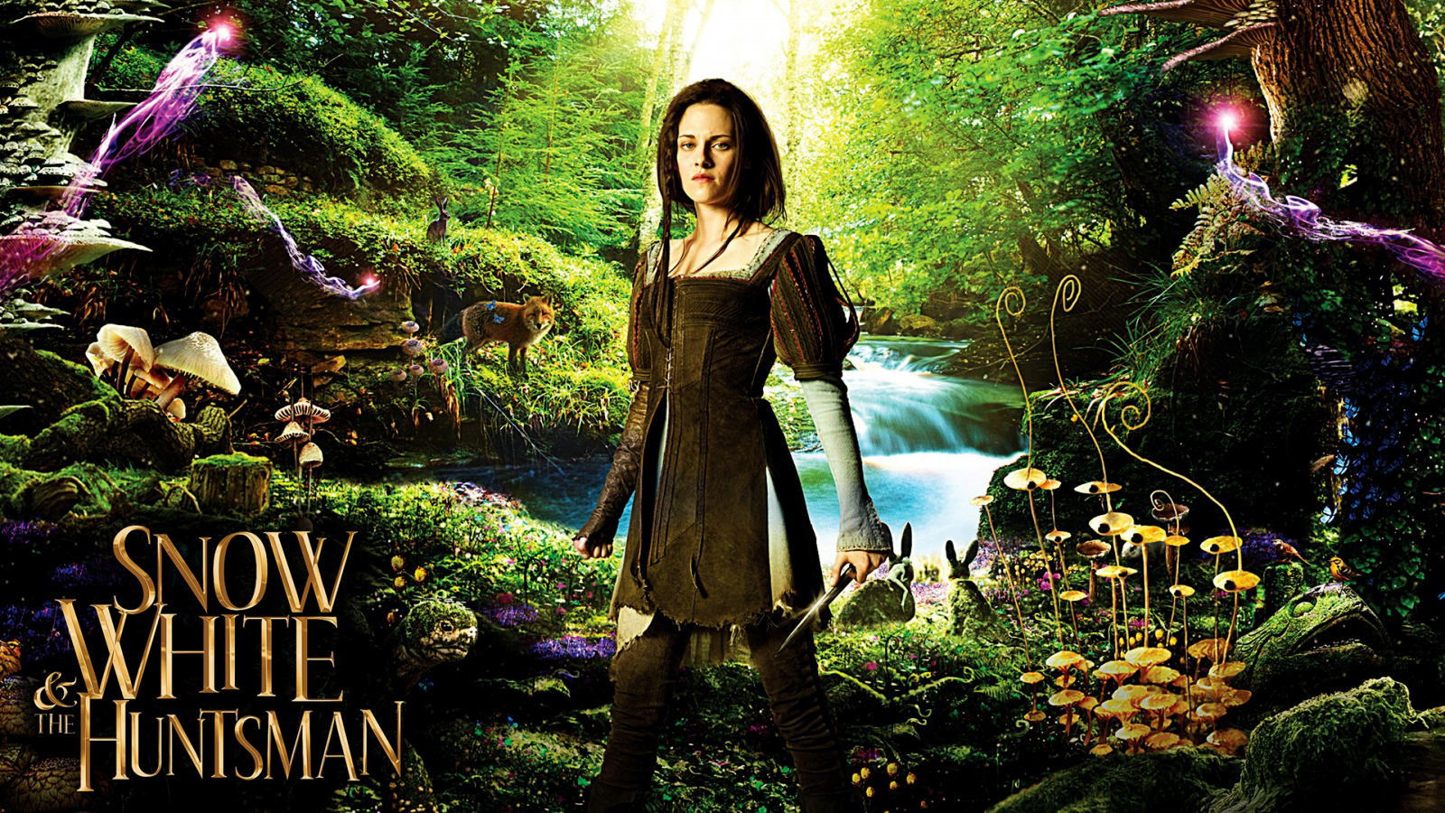 Wandposter Wald Central Wallpaper Snow White And The Huntman Poster Hd Wallpapers