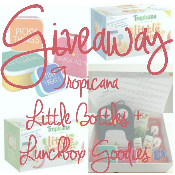 Giveaway Tropicana Little Bottles