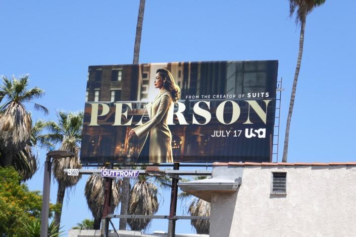 Pearson season 1 billboard
