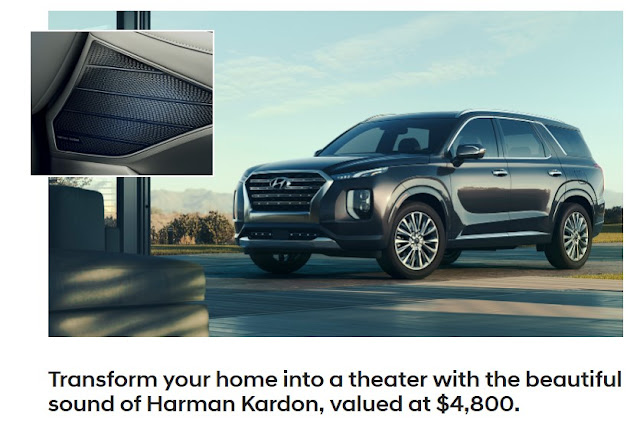 Hyundai Motors wants you to get an entry in for a chance to be one of 3 lucky winners of a home speaker package worth almost $5000! Runner up prizes, too!