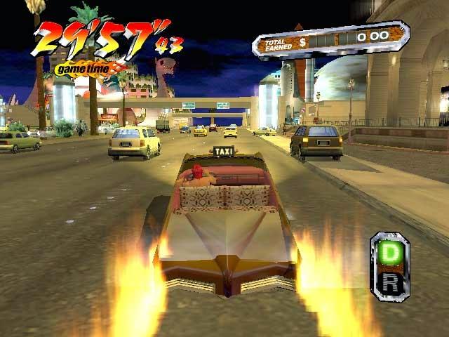 تحميل لعبة كريزى تاكسى الحديثة للكمبيوتر 2015 Game crazy taxi
