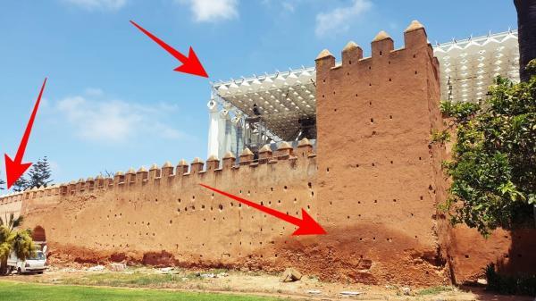 نشطاء يتصدون لقرار هدم سور تاريخي بالعاصمة الرباط عمره يزيد عن 800 سنة