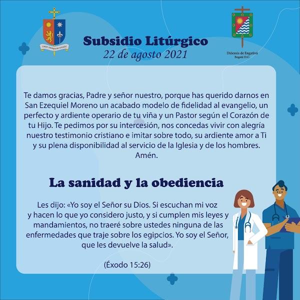 La Sanidad y la obediencia