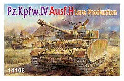 1/144 Pz.IV Ausf.H (14108)