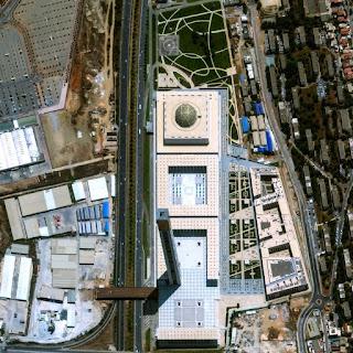 Citra Satelit WorldView-3 Masjid Agung Aljazair