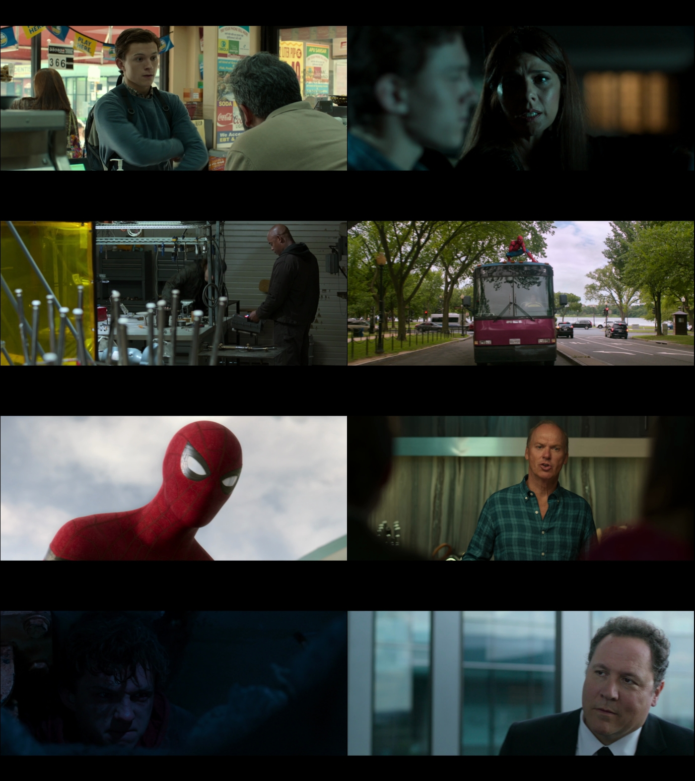 Spider Man Homecoming 1080p