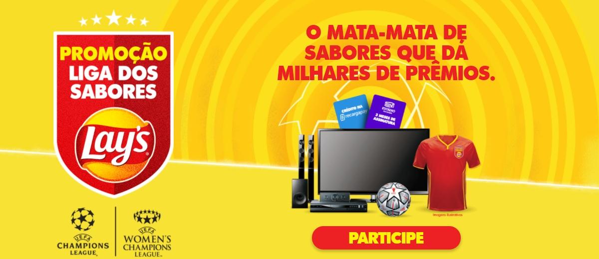 Participar Promoção Lays 2021 Liga Dos Sabores