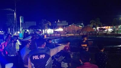 Ciptakan Situasi Kondusif, Polres Lingga Bersama Satpol Pamong Praja (PP), Lakukan Patroli Bersama