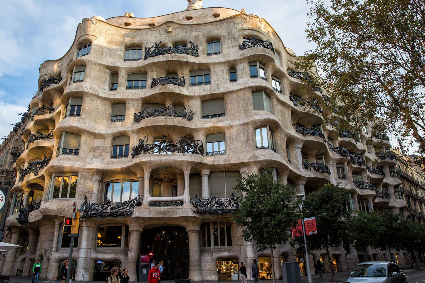 Красивая архитектура Барселоны, Испания