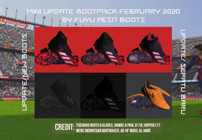 PES 2017 Mini Update Bootpack FEBRUARI UP 2020 by FuyuPES17 Boots