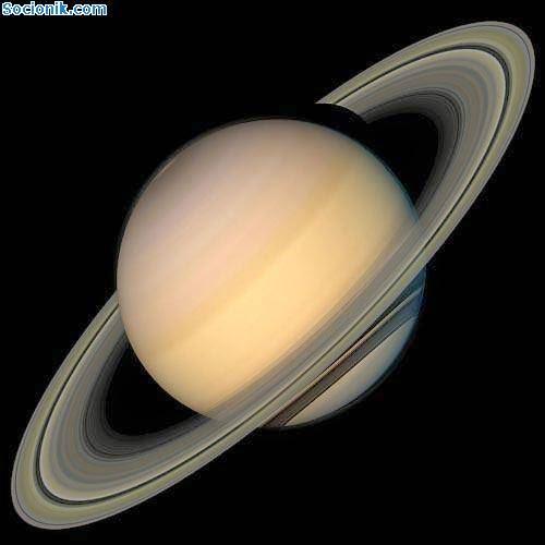 Так выглядит Сатурн