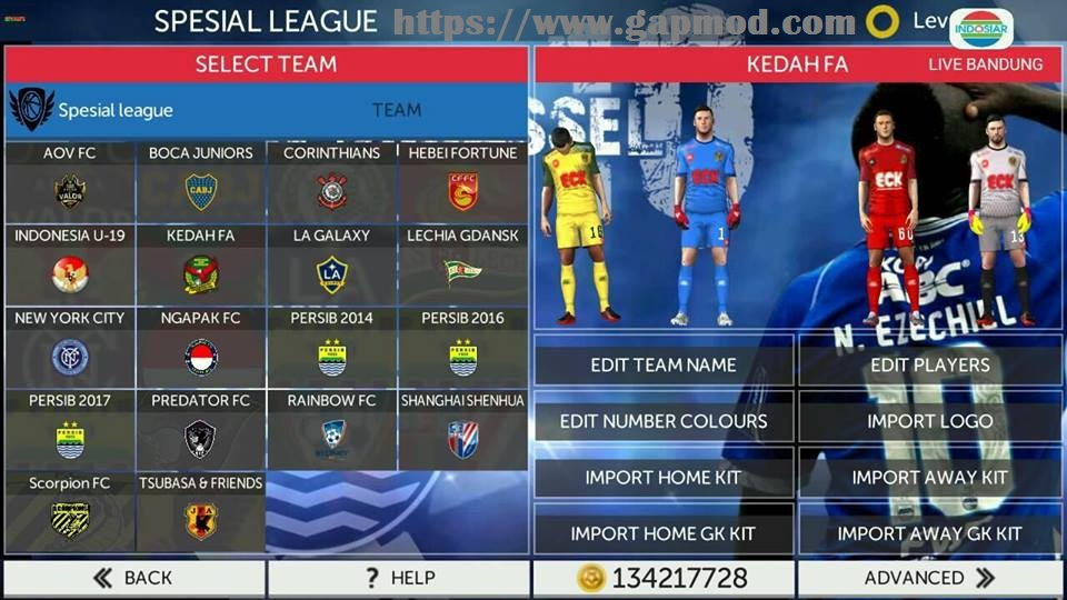 FTS Mod PERSIB Update Transfer By Kimm