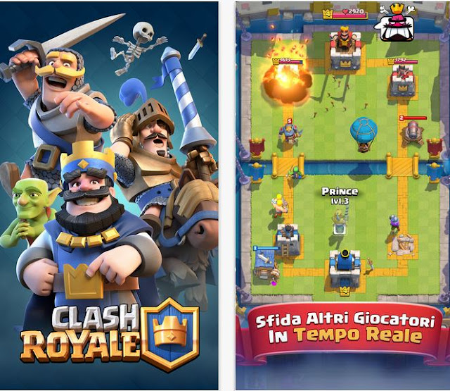 Clash Royale iOS - Scarica il gioco da iTunes per iPhone, iPad e iPod
