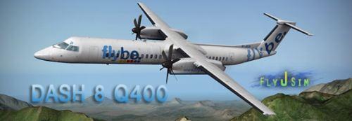 Flight Simulator News Brief: FlyJSim Bombardier Dash 8 Q400 for X