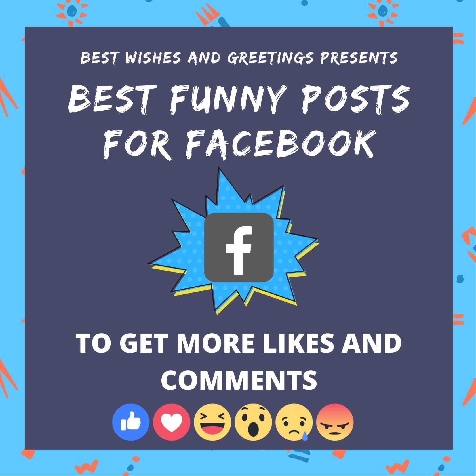 50 Best Funny Posts For Facebook