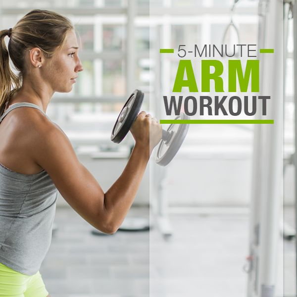 5 Minute Arm Workout